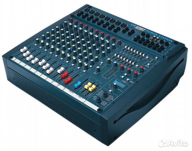 Активный микшерный пульт Soundcraft усилок 600W UK  купить 8
