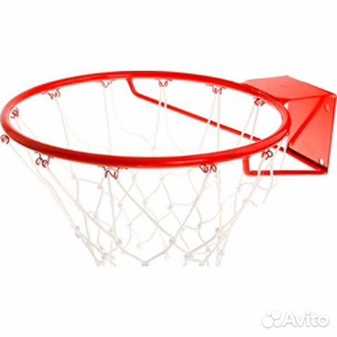 Корзина баскетбольная d295 мм, с упором с сеткой  83422540438 купить 1
