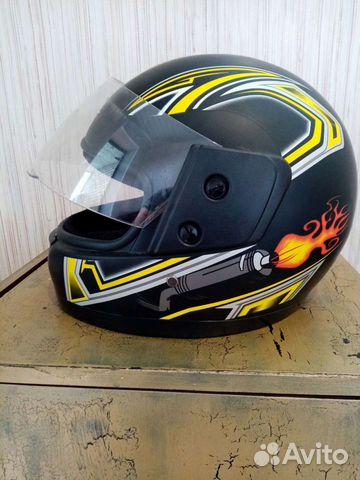 Шлем для мопеда