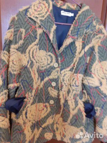 Куртка деми шерсть р 56-60
