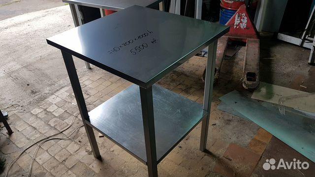 Стол-подставка нерж. 740х700х1000h