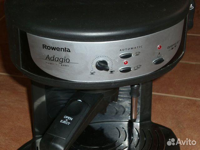 Инструкция кофеварки rowenta adagio
