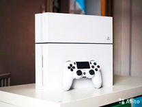 Sony PS4 1000Gb Белый Айсберг+игры+гарантия
