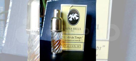 L Air Du Temps от Nina Ricci духи винтаж купить в москве на Avito