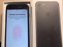iPhone 7 32gb black в отличном состоянии