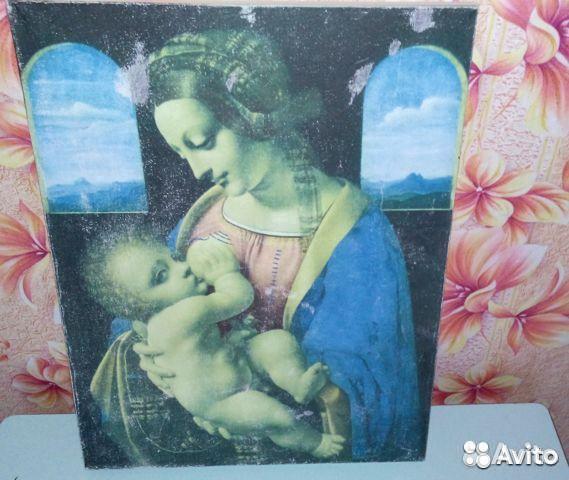 Картина Мадонна Литта  89129590758 купить 2
