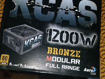 Блок питания kcas 1200W 80+ bronze на гарантии