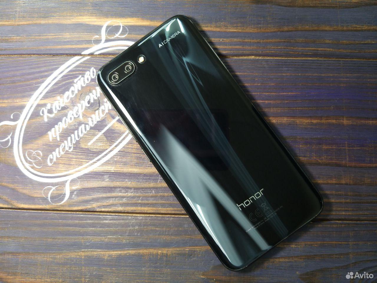 Honor 10 64GB Черный