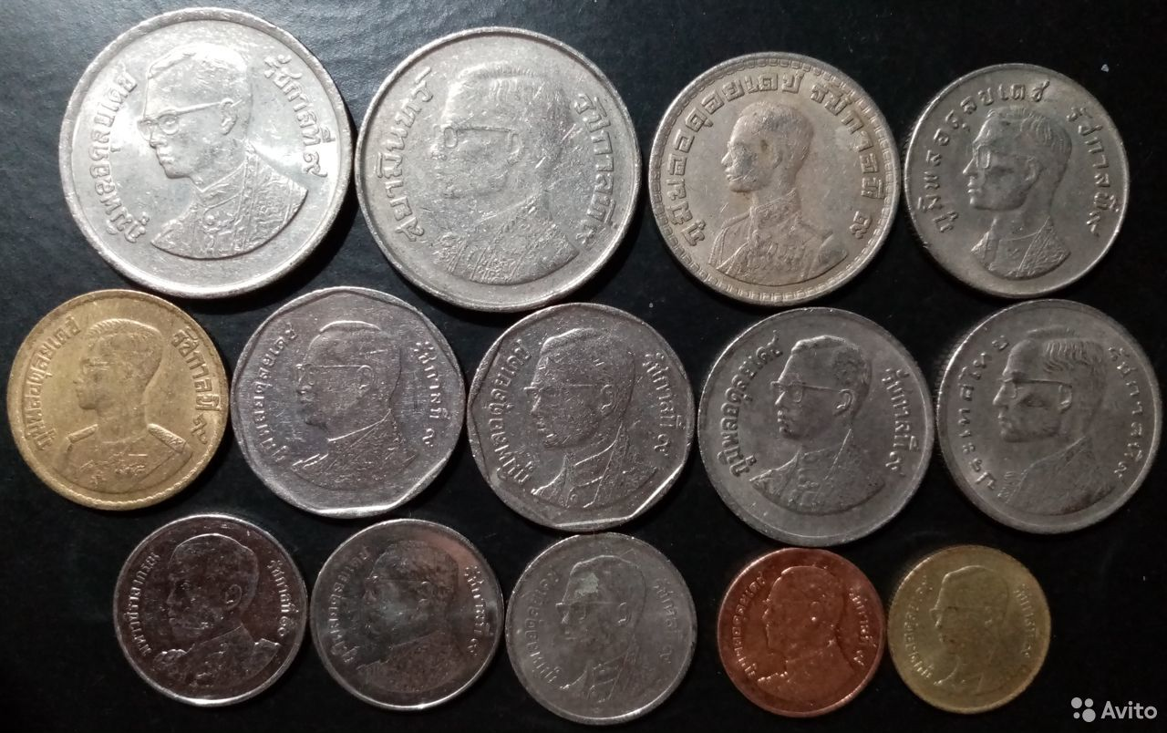 14 монет Таиланда  89965697477 купить 4