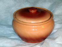 Керамический горшок для любой плиты