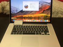 Apple MacBook Pro 15.4 retina стоковая модификация