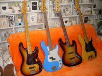 Гитары и басы из коллекции: Fender, Gibson, Rick