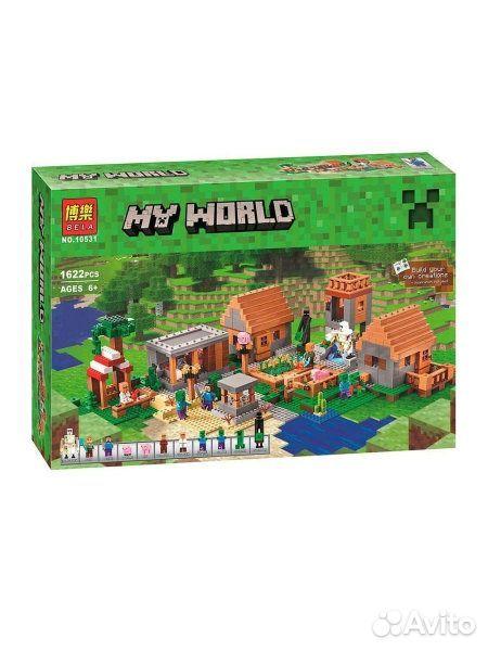 Конструктор My World большая деревня bela  89300898900 купить 1