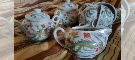 Сервиз чайный, кофейный, столовый, тарелки купить в Санкт-Петербурге с доставкой | Товары для дома и дачи | Авито