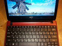 """Acer нетбук 12""""экран/2ядра/2(4)*250Гб/отл.сост"""