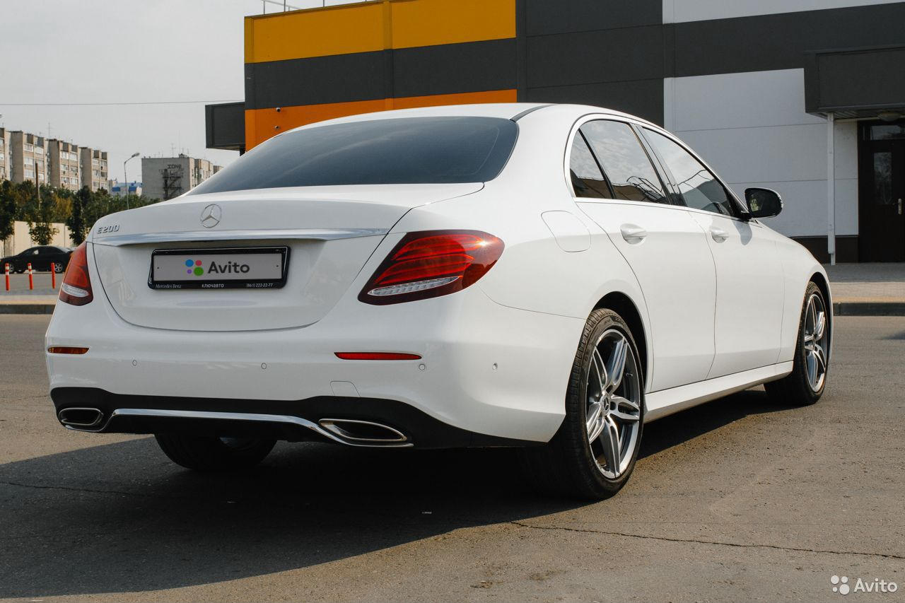 Mercedes-Benz E-класс, 2019  89343410556 купить 7