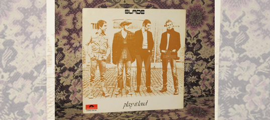 Slade play it loud 1970