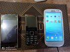 Samsung s3 и еще два телефона в комплекте