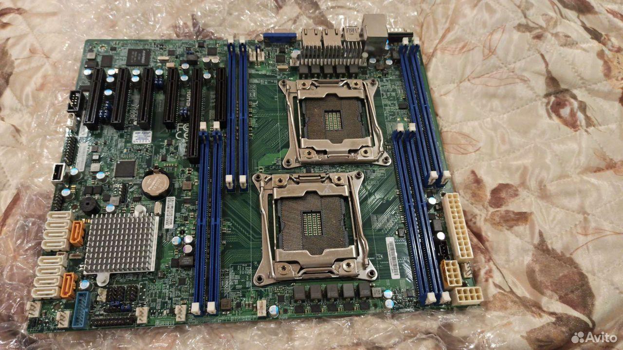 Серверная Материнская платаsupermicrombd-X10DRL  89135398225 купить 3