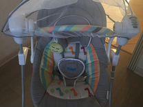 Электронная люлька-качалка для новорожденных