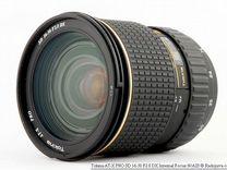 Tokina 16-50 f/2.8 для Canon