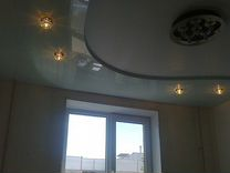 Натяжной потолок на 19,3м2 в Раменском