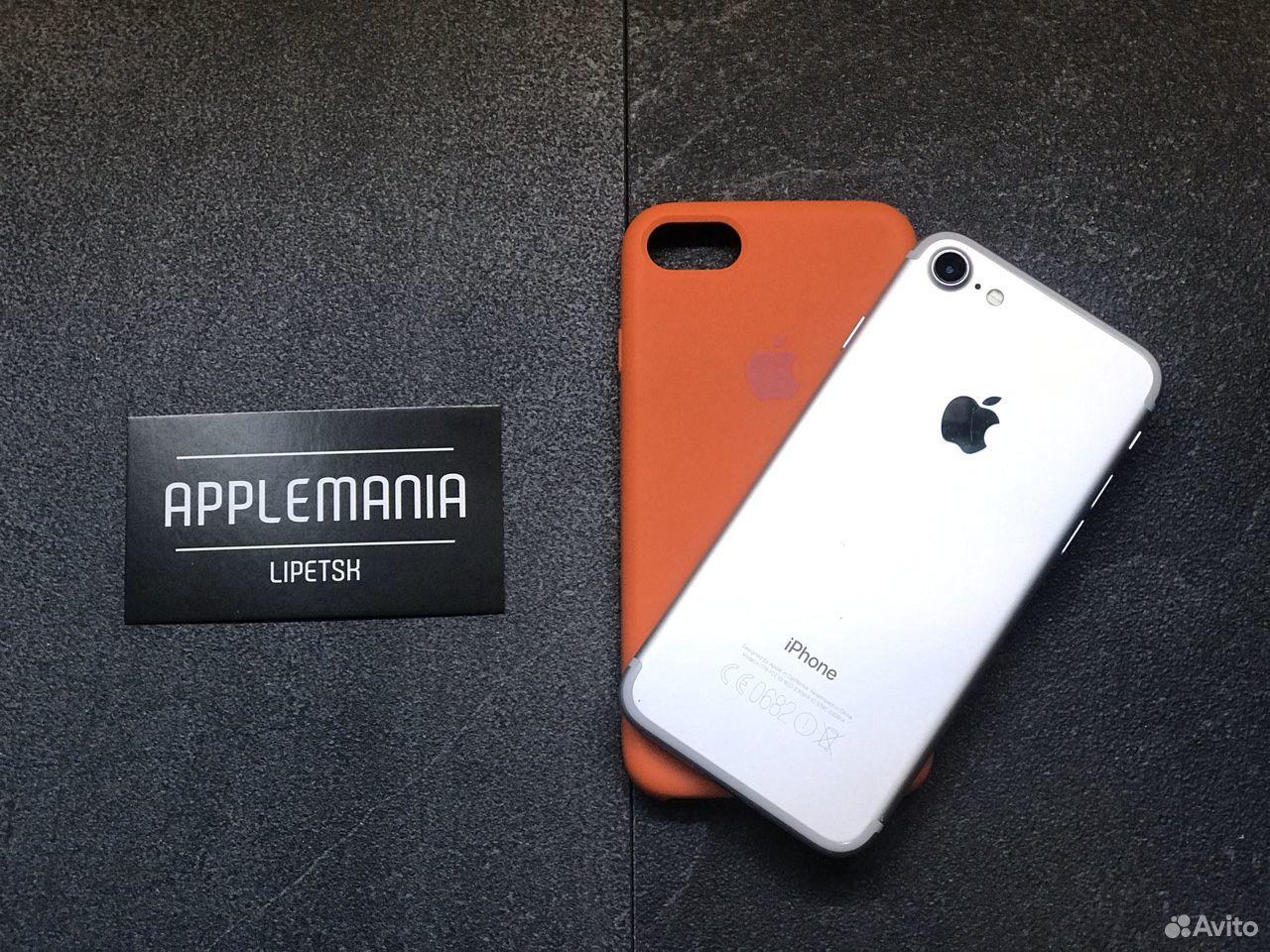 iPhone 7 32gb silver гарантия  89046868534 купить 2