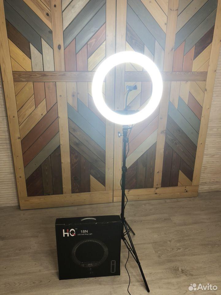 Кольцевая лампа 45 см HQ18N