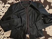Куртка кожаная Zara новая