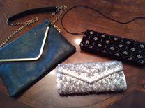 Клатчи винтаж и сумочка обмен