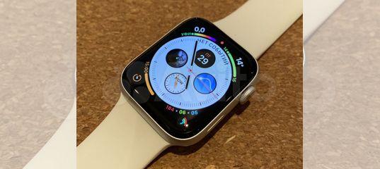 Apple Watch Series 5 44 GPS + Cellular LTE Silver купить в Москве | Личные вещи | Авито