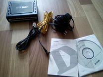 Маршрутизатор D-Link DSL-2520U