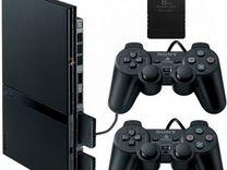 Sony PlayStation 2 slim прошита с играми и картой