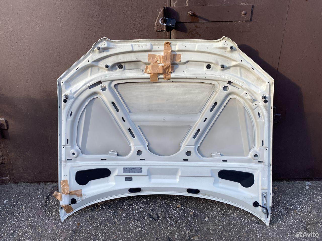 Капот белый Audi A4 B7  89534684247 купить 4