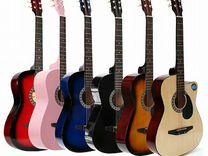 Акустические гитары 38 дюймов (19 ладов)