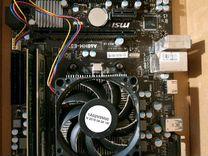 Материнская плата + процессор с дискретной видеока