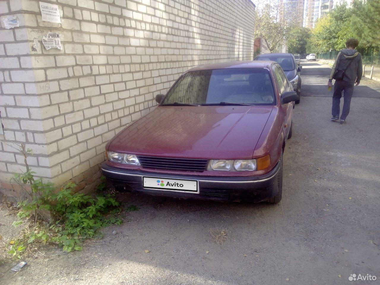 Mitsubishi Galant, 1989