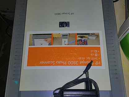 Сканер HP ScanJet 3800