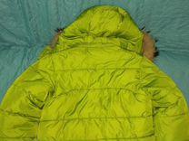 Зимняя куртка для мальчика 116р.+ комбинезон