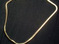 Змеиная Цепь 54см,Покрытие Золото 16K