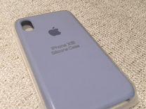 Чехол для iPhone XR цвет голубой